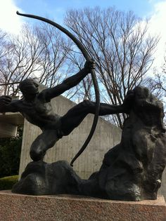 Bourdelle Traces of Hands in The National Museum of Western Art