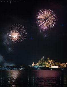 Πασχα Κερκυρα - CorfuWall.gr Corfu Island, Corfu Greece, Around The Worlds, Easter, Sea, Celestial, Night, Places, Outdoor