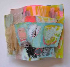 ANNETTE KEARNEY: NEW WORK SCULPTURAL PAINTINGS