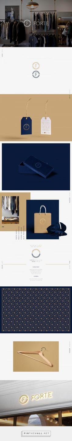 Forte Men's Clothing Branding by Dimitriy Dordyuk | Fivestar Branding Agency – Design and Branding Agency & Curated Inspiration Gallery