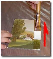 How to Varnish an Acrylic or Oil Painting