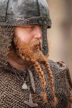 Now, THAT'S a beard to be proud of!!!  Reenactor: Jaroslav Orm Novák. http://sarkafoto.info/