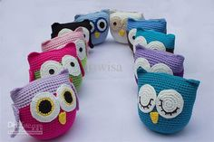 Wholesale Children's Crochet owl doll , Cute Handmade Knit Owl Dolls , Baby Toys Boys Girls Animal dolls, Free shipping, $7.8/Piece | DHgate