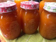 Őszibaracklekvár Pesto, Mason Jars, Automata, Food, Essen, Yemek, Mason Jar, Glass Jars, Meals