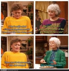 Geezer Planet: Gotta love those Golden Girls...