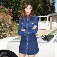 1247490c0df Alexa Chung For AG Jeans Collection