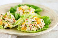 Asian Chicken Salad Lettuce Wrap