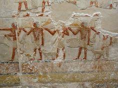 "From the tomb of Princess ""Idut"" at Saqqara, Ending of Dynasty V and the beginning of Dynasty VI, circa 2280 B.C"