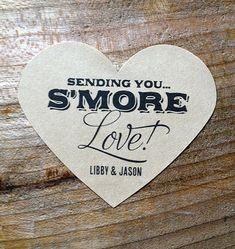 Kraft Brown Wedding Labels - Wedding Stickers - Envelope Seals - Favor Labels - Goody Bag Labels - Set of 50