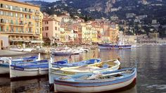 Villefranche Harbor, French Riviera, France
