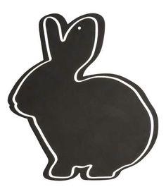 Bunny blackboard
