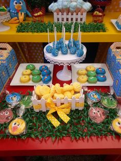 Gallina Pintadita birthday party! See more party ideas at CatchMyParty.com!