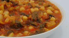Mozzarella, Ratatouille, Chana Masala, Fresco, Ethnic Recipes, Food, Baby, Chickpeas, Health Recipes