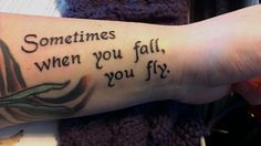 Love this i love the message i think when i get old enough im going to get this on my foot