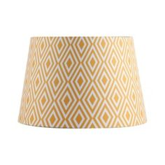 Threshold Diamond Print Lampshade - Yellow Quick Information