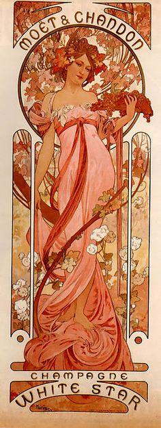 Love Jugendstil - #Art Nouveau   by Alfons Mucha
