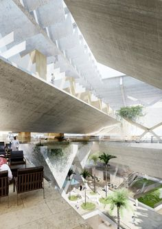"""AGi architects' """"Floating"""" Courthouse Wins Second Prize in Qatar Competition"""