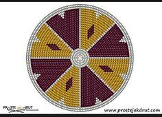Crochet Circle Pattern, Tapestry Crochet Patterns, Crotchet Patterns, Crochet Circles, Circular Pattern, Boho Tapestry, Tapestry Bag, Mochila Crochet, Crochet Backpack