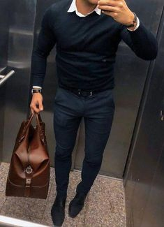 Trendy Fashion Trends For Men Moda Masculina Ideas Mens Fashion 2018, Fashion Mode, Mens Fashion Suits, Mens Smart Casual Fashion, Trendy Fashion, Mens Casual Winter Clothes, Smart Mens Clothes, Style Fashion, Fashion Vintage