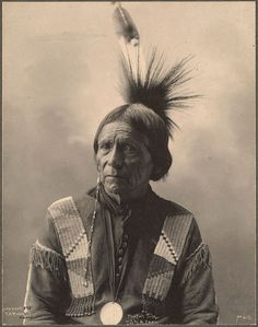 Peatwy Tuck von den Meskwahki, 1898. | 20 historische Fotos, die Du vorher nur in Schwarz/Weiß gesehen hast