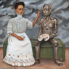 """A parody of """"A Making of Two Frida's"""" 