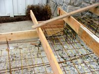 Install heating cable in steps to prevent ice buildup and reduce slip and fall dangers.