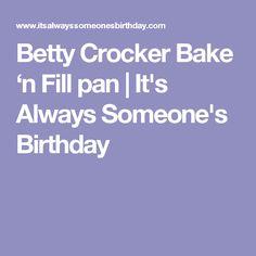 37 Best Betty Crocker Bake N Fill Images In 2017 Betty