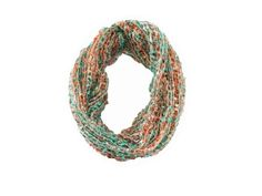 Sizzle City Spring Color Knit Loop Confetti Infinity Scarf