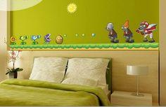 Plants vs Zombies bedroom