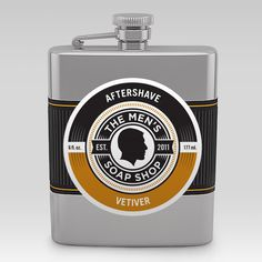 All natural aftershave from The Men's Soap Shop