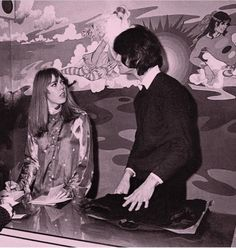 The Fool were a Dutch art/design/music collective who had a tremendous impact on London psychedelic scene between 1967 and Alth. Beatles Art, The Beatles, Muse Of Music, Mick Fleetwood, Swinging London, 1960s Fashion, Vintage Fashion, Wife And Girlfriend, The Fool