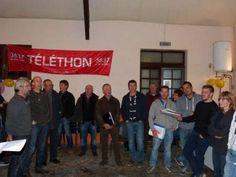 Téléthon à Bedous avec de nombreux chanteurs des villages des environs - Vallée d'Aspe, Pyrénées Atlantique