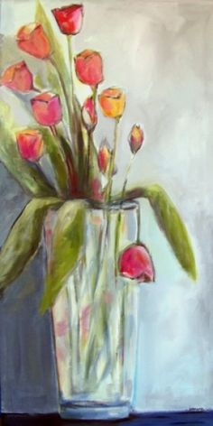 Tulips...just because by Janet Moore