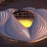 L'étrange forme « vaginale » d'un stade de la coupe du monde 2022 au Qatar