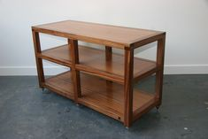 › Box Furniture Co › Box Furniture Heavy Double Width Hi Fi Rack   Furniture Hi…