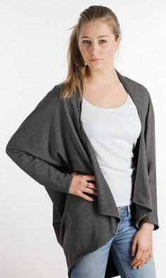 oversize jersey cardigan now available on blaccbird.de fashion made in reutlingen