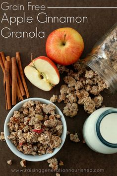Grain Free Apple Cinnamon Granola