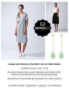 Sample Sale Dutchess and by Belle 10 juni -- Rotterdam -- Juni, Rotterdam, Summer Dresses, Fashion, Moda, Summer Sundresses, Fashion Styles, Fashion Illustrations, Summer Clothing
