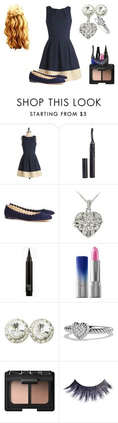 """Meeting Mark's Parents"" by shestheman01 on Polyvore featuring Closet, MAKE UP STORE, Chloé, Lancôme, DB Designs, Estée Lauder, David Yurman, NARS Cosmetics and Manic Panic NYC"