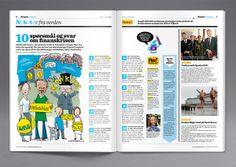 Aftenposten Junior on Editorial Design Served