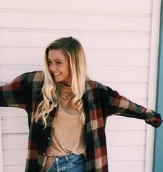pinterest: oliviafrazzier Plaid Shirt Outfit Summer, Plaid Shirt Outfits, Cute Outfits, Casual Outfits, Fall Winter Outfits, Spring Outfits, Autumn Winter Fashion, Outfit Goals, Flannels