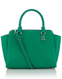 Georgia Winged Handheld Bag from Accessorize Latest Handbags, Latest Bags, Green Handbag, Green Bag, Blue Green, Georgia, Tote Backpack, Tote Bag, Crossbody Bags