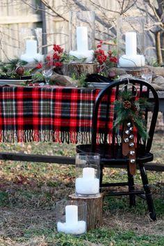 Love the tartan for Christmas! FAB! by tamara