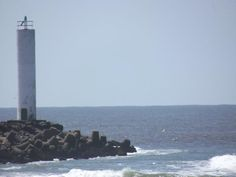 Farol da Praia dos Molhes.