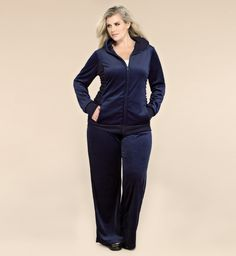 WOMEN'S PLUS SIZE HOLLYWOOD TRACK SUIT