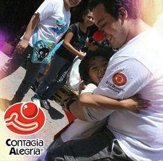 Comparte siempre la alegría de vivir 🔴🙌 #ContagiaAlegria  #HéroesSinCapa #FuerzaClown #SoySD #ClownArmy #SoñarDespierto