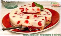 Delicia Fresca de Framboesas e Iogurte - Clique na imagem para ver a receita
