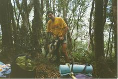 #greatwalker wild goat I caught on hill track at the back of Lake Moana, West Coast.