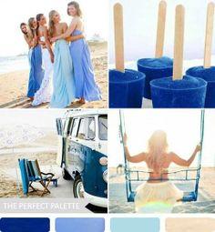 #Inspiración #Decoración en #Azul para tu #Boda #EvaBrazzi