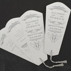 Roaring Twenties Fandango Wedding Invitation by honey-paper.com #wedding #invitations #carlsoncraft #roaringtwenties